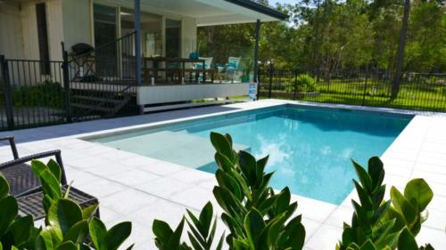 Paved Pool Surround
