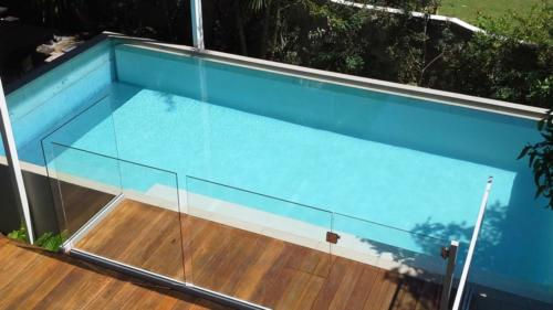 Decking to Pool Tile