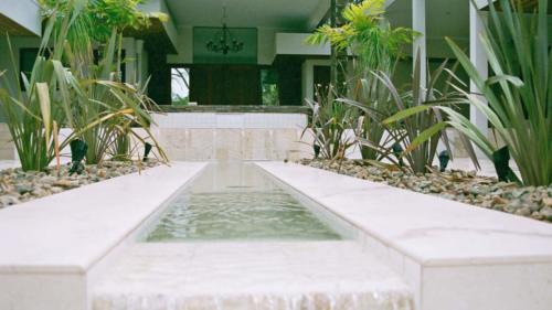 Entrance - Water Landscaping