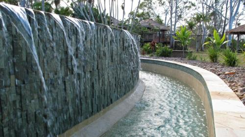 Waterfall Pool Edge